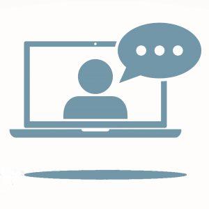 virtual webinar icon-slate